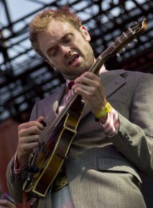 Chris Thile of the Punch Brothers performs during the Bonnaroo Music and Arts Festival in Manchester, Tenn., Saturday, June 9, 2012. (AP Photo/Dave Martin)