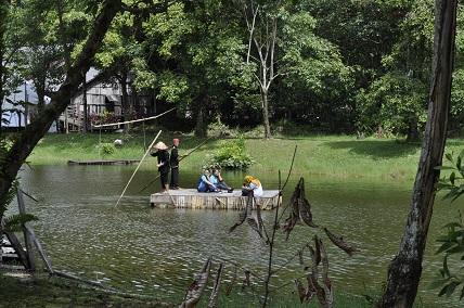 Sarawak Cultural Village lake